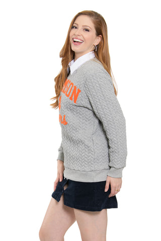 Clemson Tigers Embroidered Jenny Sweatshirt