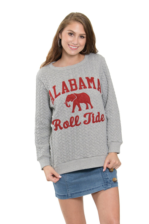 Alabama Crimson Tide Embroidered Jenny Sweatshirt