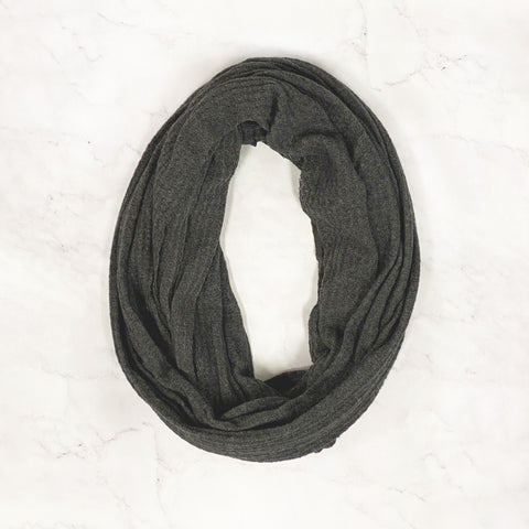 Thermal Infinity Scarf - Charcoal