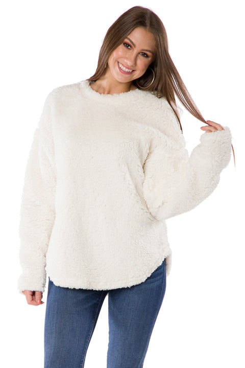 The Andrea Plush Pullover