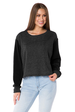 The Elana Cropped Pullover