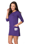Kansas State Wildcats Brittany Button Back