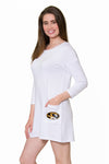 Missouri Tigers Brittany Button Back Dress