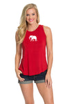 Alabama Crimson Tide Keyhole Back Tank - Crimson