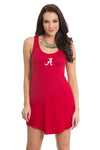 Alabama Crimson Tide Racerback Dress - Crimson