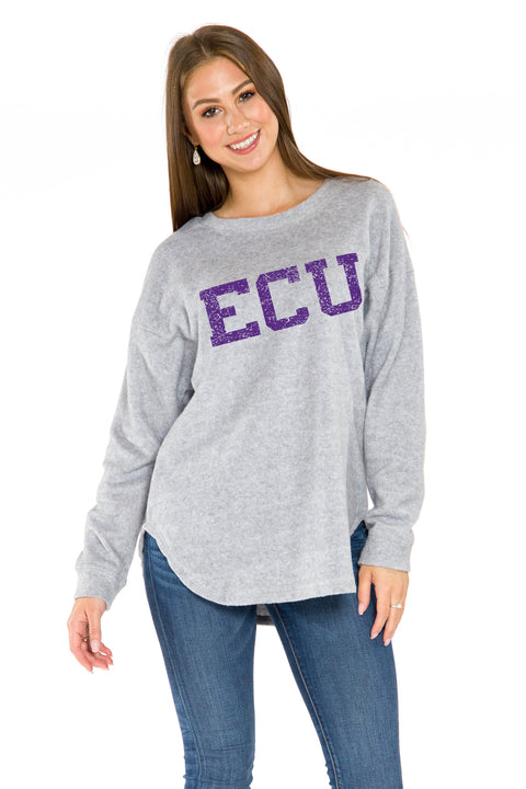 ECU Pirates Sherpa Pullover
