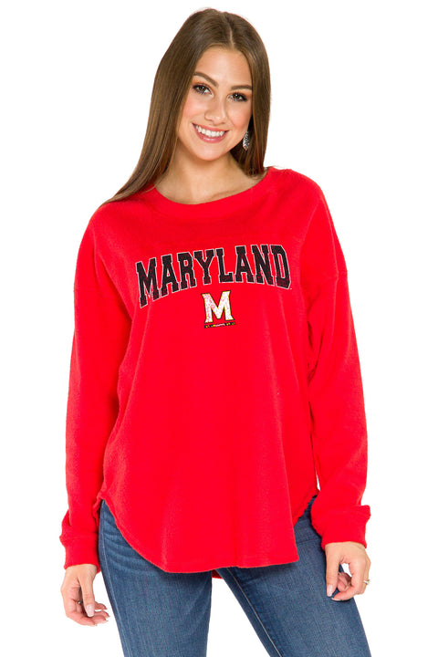 Maryland Terrapins Mickey Pullover