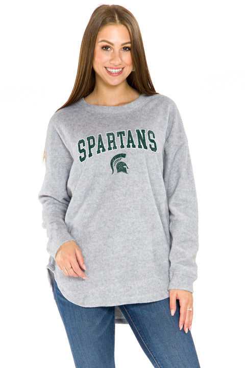 Michigan State Spartans Sherpa Pullover