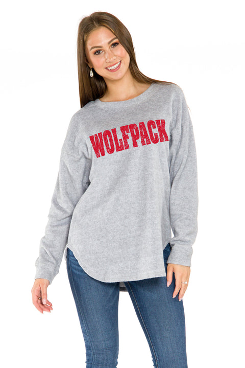 NC State Wolfpack Sherpa Pullover
