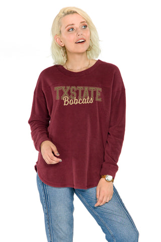 Texas State Bobcats Mickey Pullover
