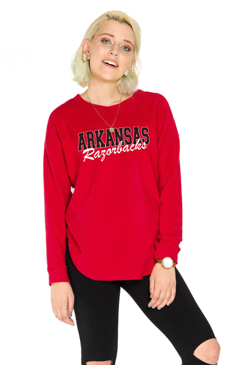 Arkansas Razorbacks Mickey Pullover
