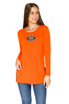 Auburn Tigers Side Slit Tunic