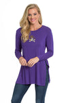 East Carolina Pirates Side Slit Tunic