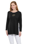Purdue Boilermakers Side Slit Tunic