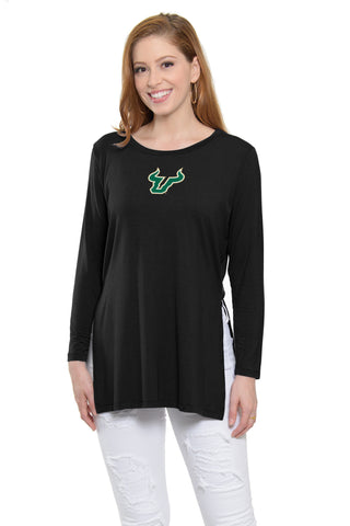 USF Bulls Marie Side Slit Tunic