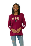 Florida STate Seminoles Womens Long Sleeve Jersey - Garnet