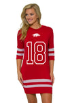 Arkansas Razorbacks Gia Dress