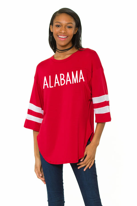 Alabama Crimson Tide Oversized Jersey - Crimson