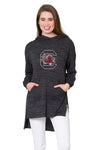 South Carolina Gamecocks Womens Hi-Lo Hoodie - Black