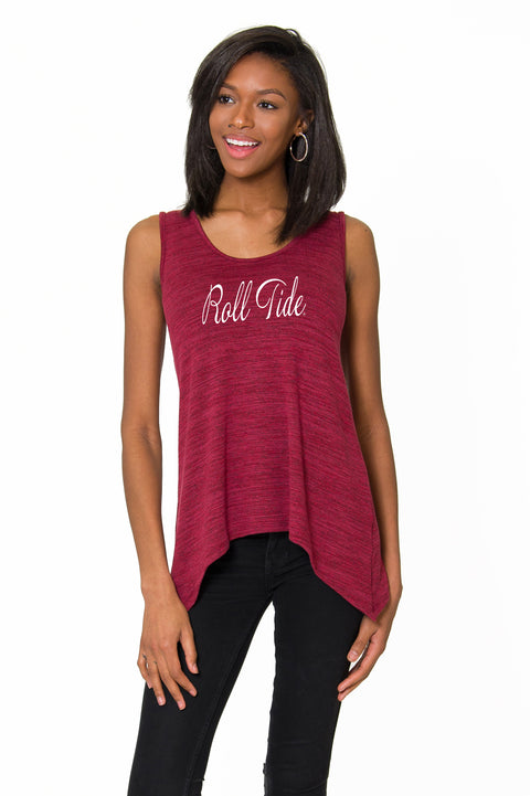 Alabama Crimson Tide Womens  A-Line Tank