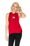 Alabama Crimson Tide High Neck Tank - Crimson