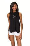 South Carolina Gamecocks High Neck Tank - Black