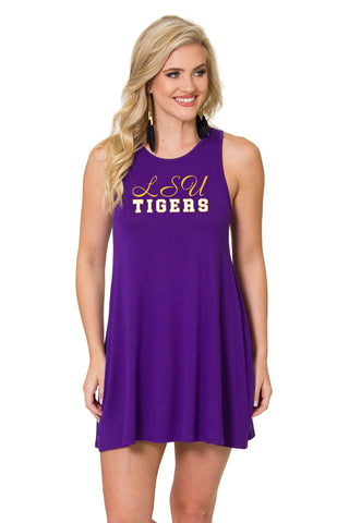 LSU Tigers Tori Tent Dress