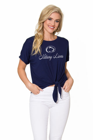 Penn State Nittany Lions Tia Tie Front