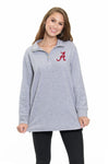 Alabama Crimson Tide 3 Button Sherpa Pullover