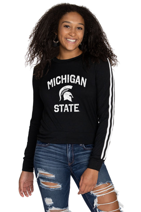 Michigan State Chloe Long Sleeve