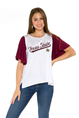 Texas State Bobcats Victoria Tee