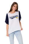 Michigan Wolverines Victoria Tee
