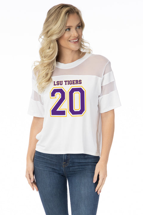 LSU Tigers Avery Jersey