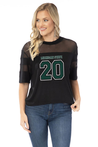 Michigan State Spartans Avery Jersey