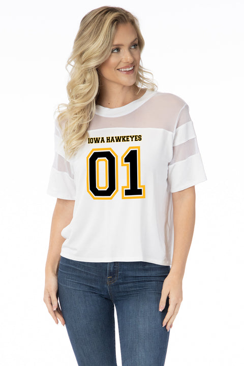 Iowa Hawkeyes Avery Jersey