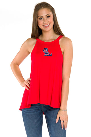 Ole Miss Rebels Alexa Tank