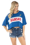 Kansas Jayhawks Morgan Crop