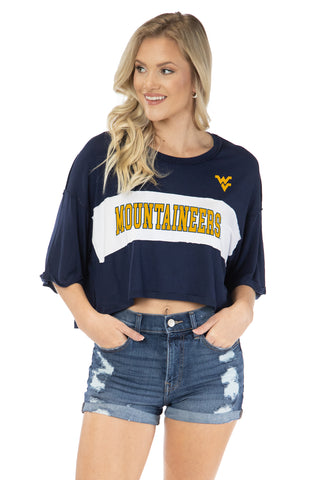West Virginia Mountaineers Morgan Crop
