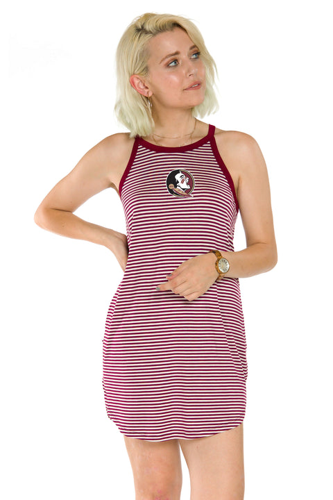 Florida State Seminoles Sadie Striped Dress