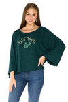USF Bulls Womens Kimono Sleeve Top - Hunter Green