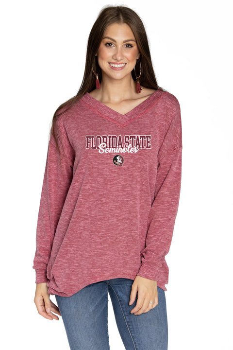 Florida State Seminoles Bailey V-Neck