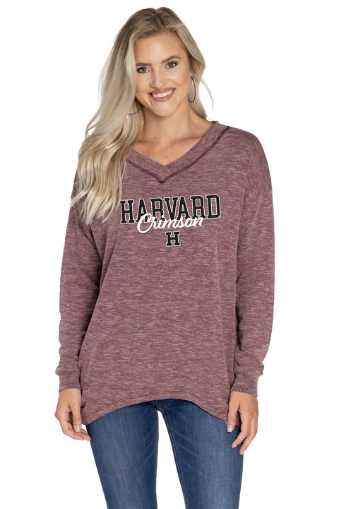 Harvard Crimson Bailey V-Neck