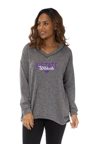 Kansas State Wildcats Bailey V-Neck