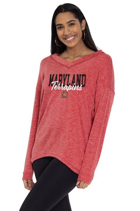 Maryland Terrapins Bailey V-Neck