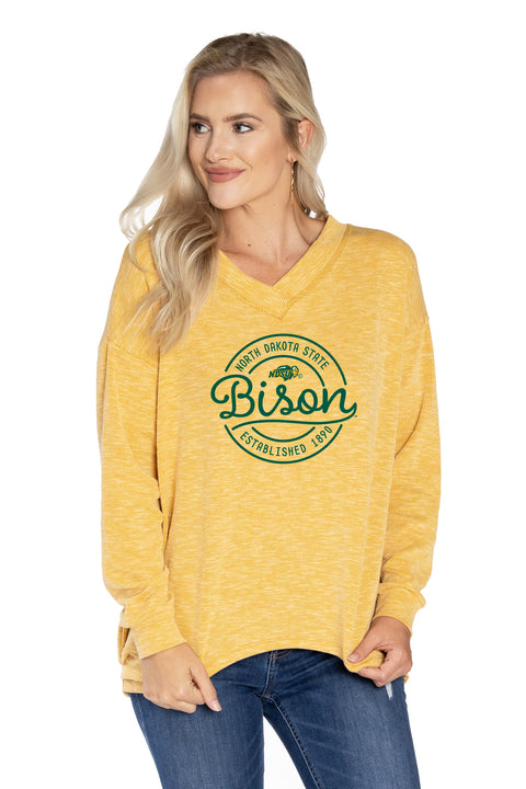 North Dakota State Bison Bailey V-Neck