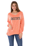 Oklahoma State Cowboys Bailey V-Neck