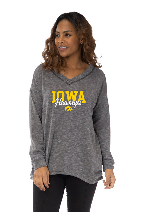 Iowa Hawkeyes Bailey V-Neck