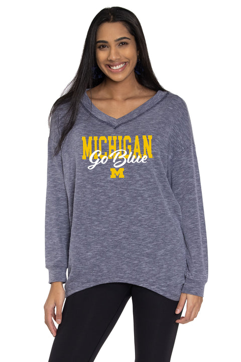Michigan Wolverines Bailey V-Neck