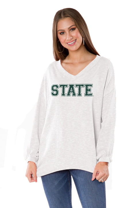 Michigan State Spartans Bailey V-Neck