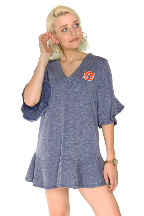 Auburn Tigers Syd Ruffle Dress